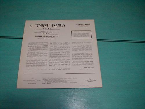 el touche francés sinfónica boston munch ravel dukas vinilo