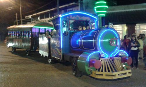 el tren de la alegria, cumpleaños, despedidas, traslados...