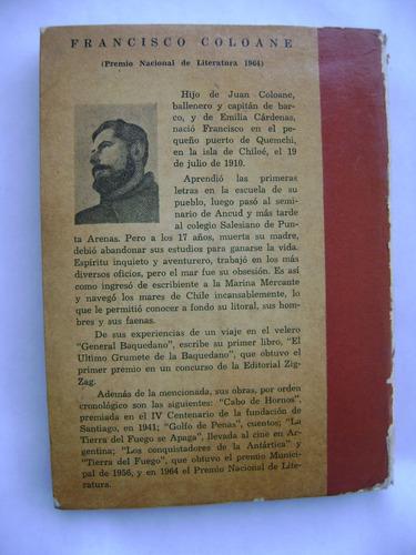 el ultimo grumete de  la baquedano  / francisco coloane