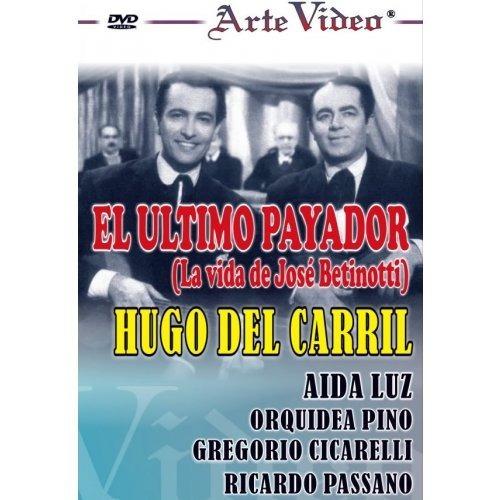 el ultimo payador- hugo del carril - aída luz - dvd original