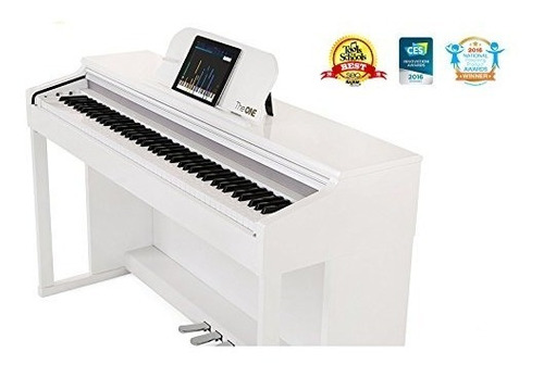 el único piano inteligente blanco clásico