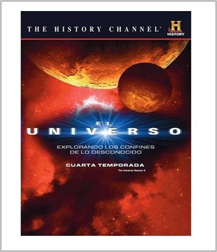 el universo paquete de las 4 temporadas completas dvd