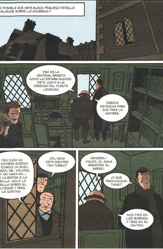 el valle del miedo - sherlock holmes - ed. norma - comic