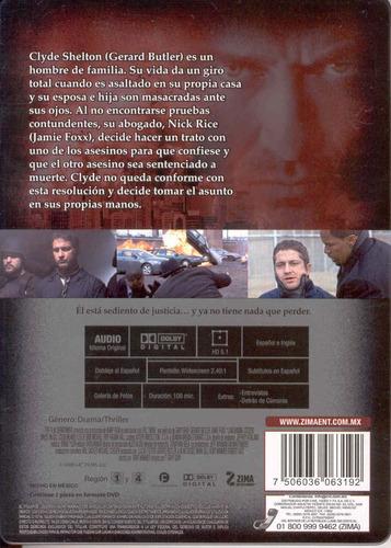el vengador, versión del director, película en dvd original