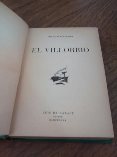 el villorrio - william faulkner