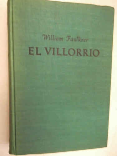 el villorrio william faulkner tapa dura