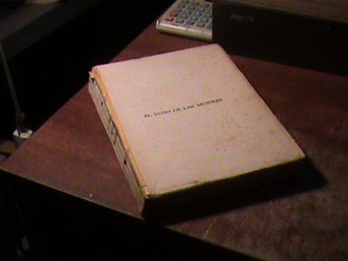 el voto de las mujeres (año 1932) colette yver (t623
