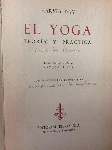 el yoga teoría y practica por harvey day