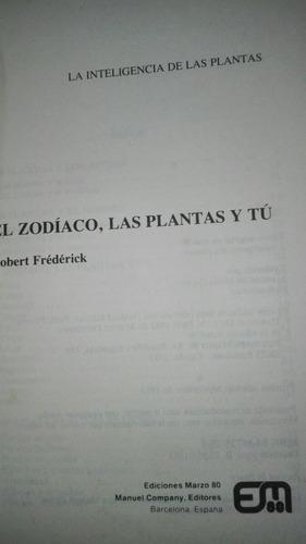 el zodiaco las plantas y tu  robert frederick