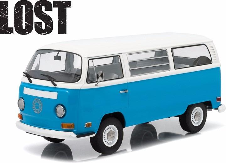 el333 1 18 volkswagen combi 71 lost vw dharma greenlight 1 en mercado libre. Black Bedroom Furniture Sets. Home Design Ideas