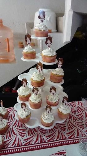 elaboración de cup cakes y gelatinas