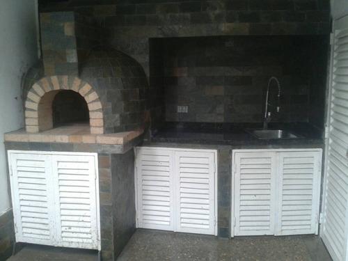 elaboración de hornos a leña y gas (dual)