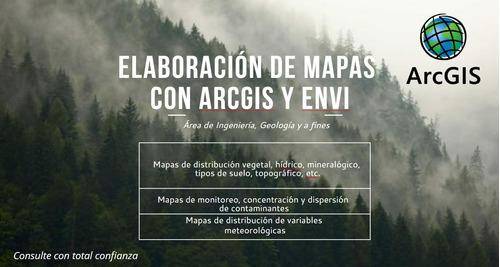 elaboración de mapas en arcgis