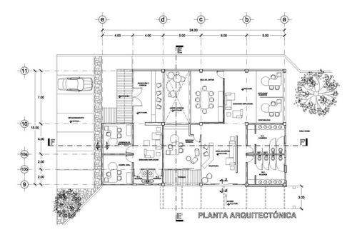 elaboración de planos arquitectónicos