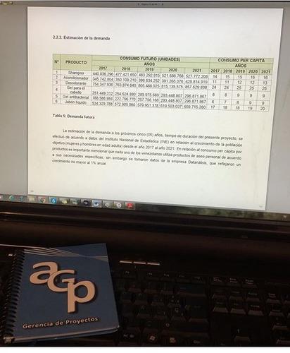 elaboración de proyectos para crédito y financiamiento