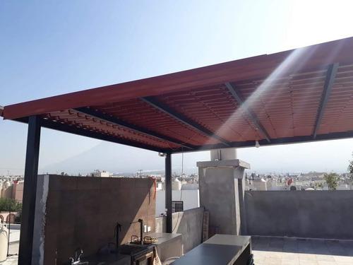 elaboración de techos y venta de láminas traslúcidas y galv.