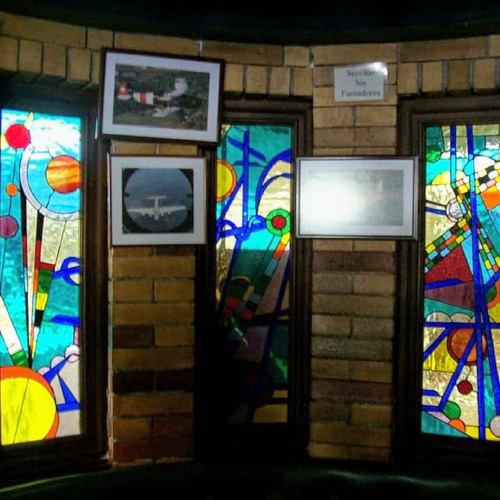 elaboracion de vitrales artísticos en técnica original