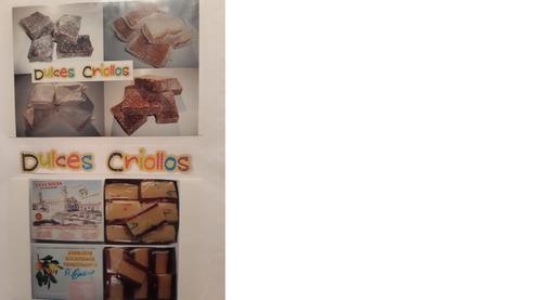 elaboración y distribución de dulceria criolla eventos