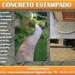 elaboracion y mantenimiento de pisos de concreto estampado.
