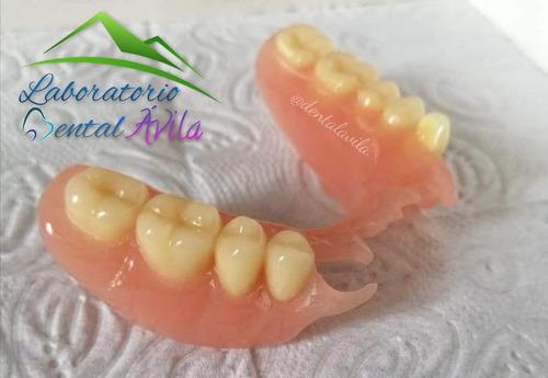 elaboración y reparación de protesis dentales a domicilio