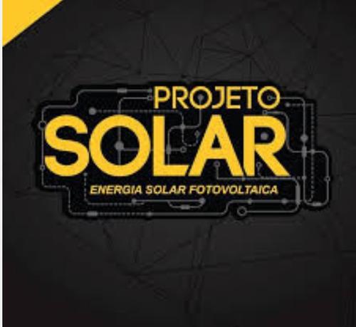 elaboração de projeto de energia fotovoltaico