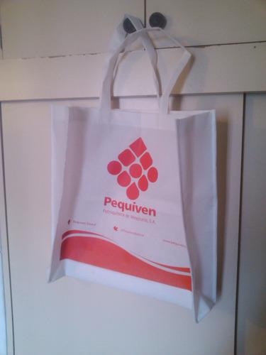 elaboramos bolsas ecologicas en tela pop, con estampado