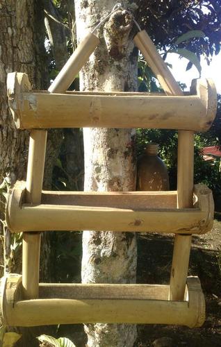 elaboramos manualidades de bambu