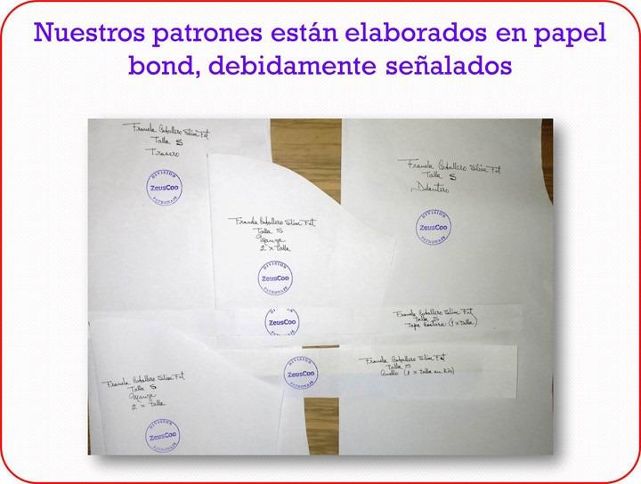 Elaboramos Patrones De Costura A Medida Desde Talla 0 A Xxxl - Bs. 2 ...