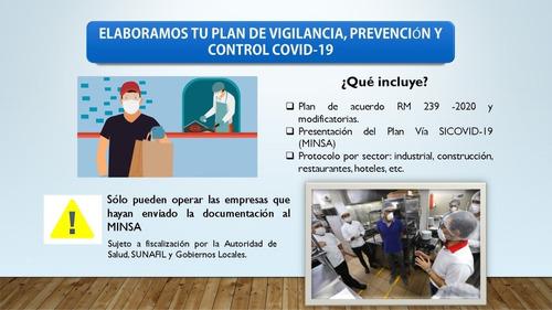 elaboramos plan de vigilancia, prevención y control sicovid