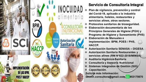 elaboramos plan de vigilancia - protocolo sanitario covid 19
