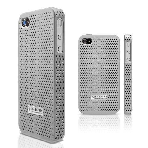 elago s4 breathe case for at & t y verizon iphone 4 (negro)