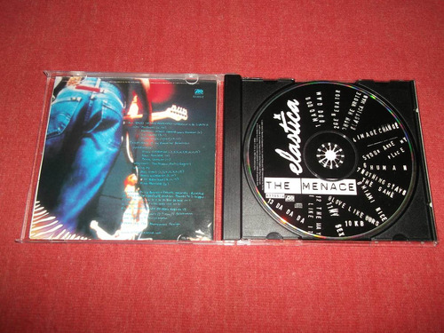 elastica - the menace cd usa ed 2000 mdisk