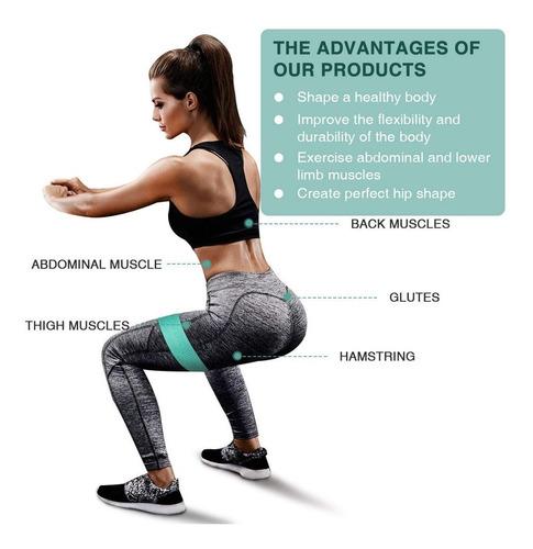 elasticas fitness bandas