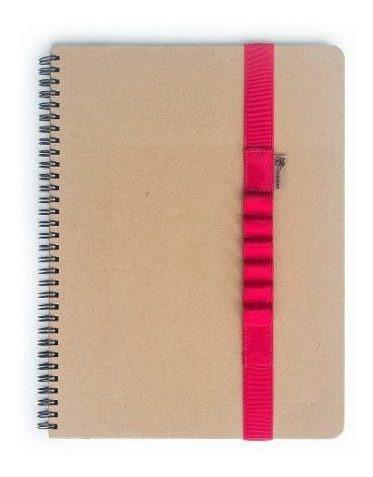elástico escolar para caderno a4 6 divisórias melancia