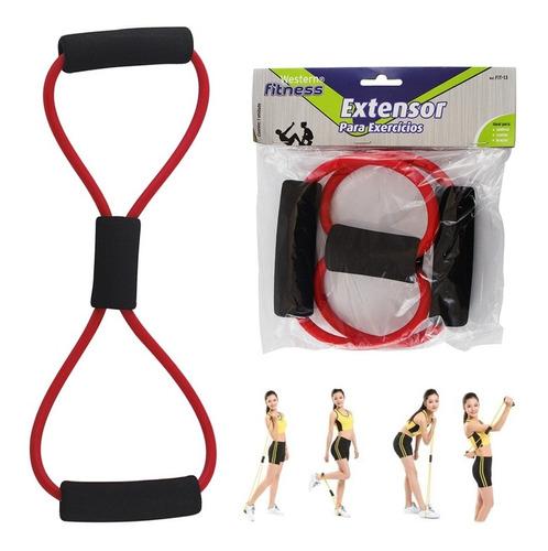 elástico extensor musculação fitness ginástica exercício