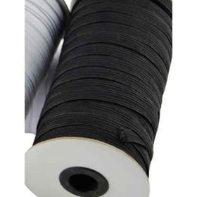 Elástico Negro 5 Mm Ideal Barbijos