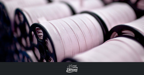 elástico para lingerie alça zanotti papiro 25m ver cores 10m