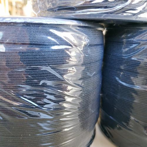 elastico plano 9 mm negro zanotti jaragua 10 x 100 metros