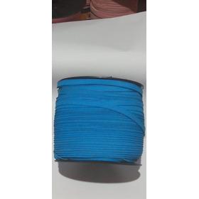 Elástico Pra Máscara Tecido Chato Colorido 7mm X 150m