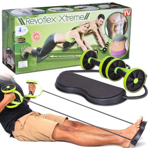 elastico roda exercicio abdominal revoflex muito barato