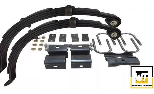 elasticos para trailer 1000 kg y movimiento kit 4 envio grat