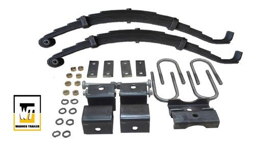 elasticos para trailer  1500 kg y movimiento kit 6