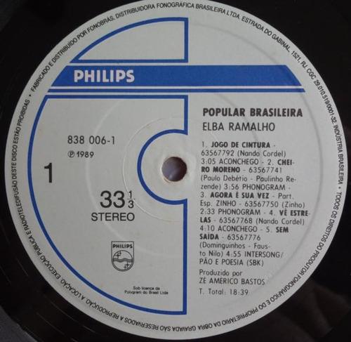 elba ramalho - popular brasileira