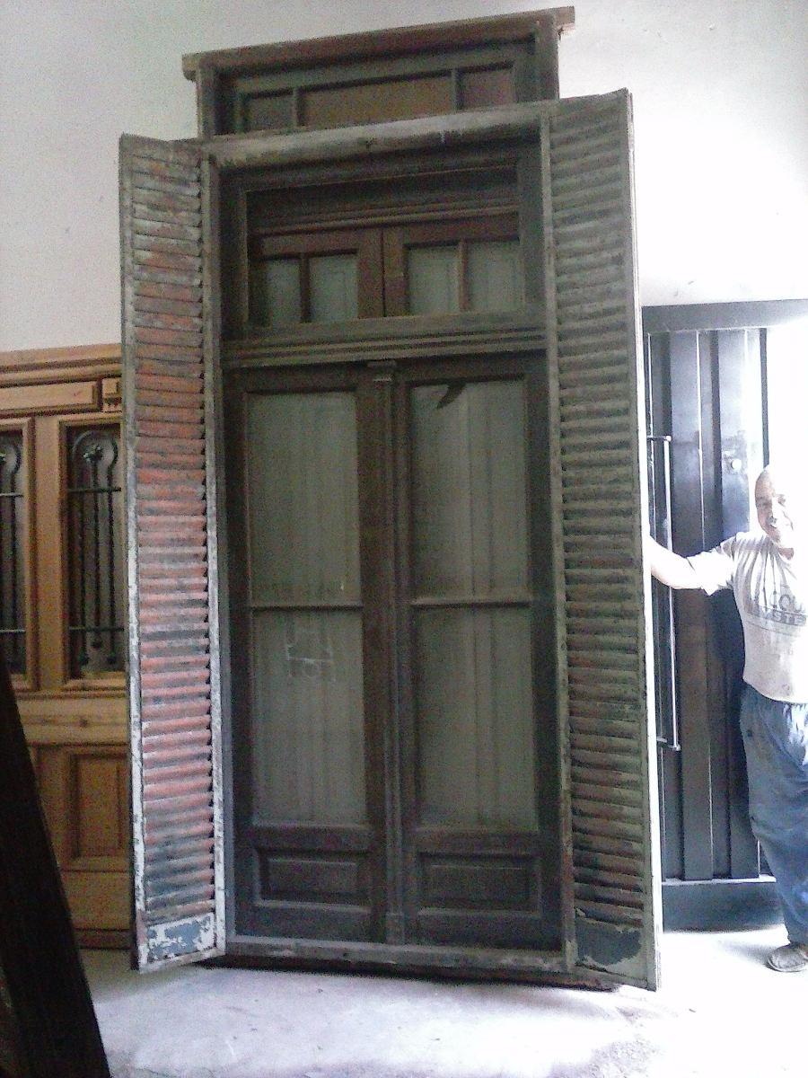 Elcarreton Antigua Ventana 2h Cedro Postigo + Celosias - $ 8.990,00 ...
