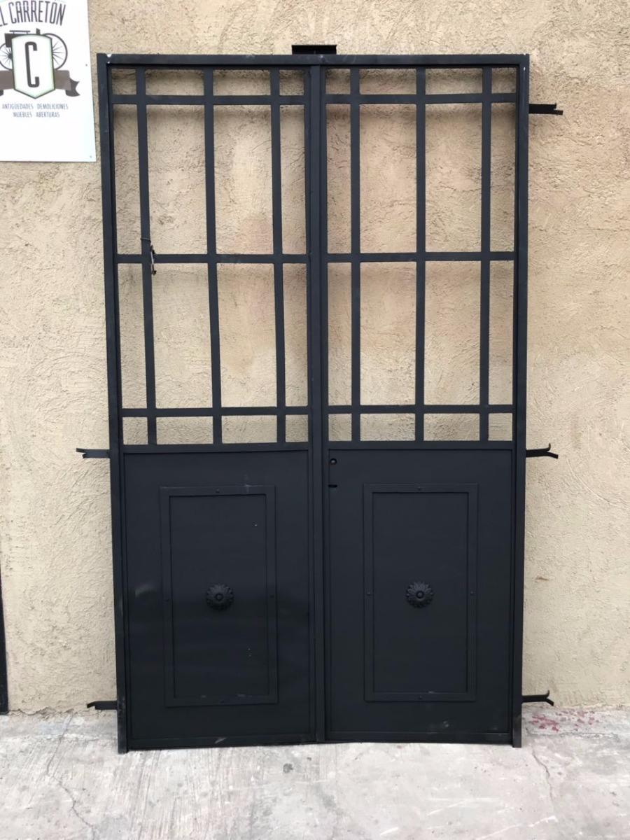 Puertas de hierro baratas latest rejas puertas hierro for Puertas exteriores baratas