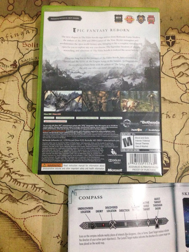 elder scrolls skyrim xbox 360 the