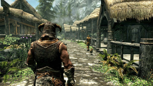 elder scrolls v skyrim special ed + plus - ps4 digital pardo