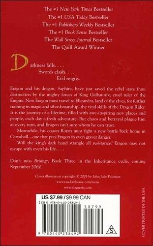 eldest - christopher paolini - laurel leaf books - rincon 9