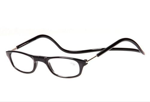 Ele Ela Unissex Armação Preto Oculos Gr +1,5 Leitura C  Ima - R  49 ... f36484b766