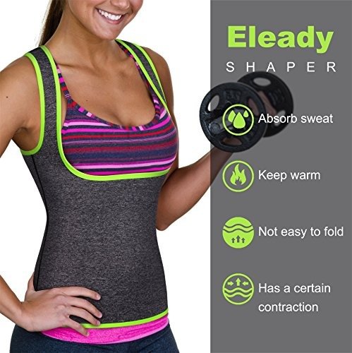 Neopreno Sin Camiseta De A Mujer Cremallera Para Eleady 7gZwS